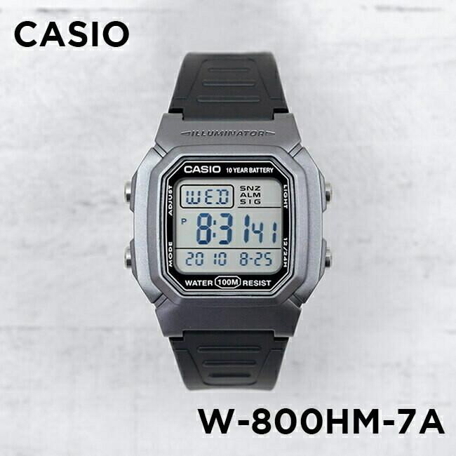 RELOJ Casio digital unisex w-800hm-7av