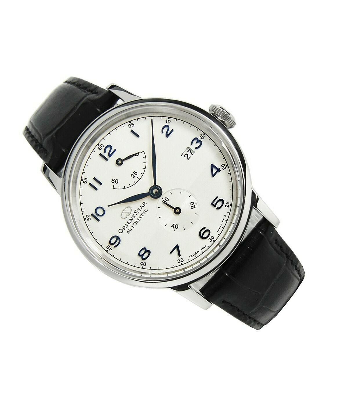 Reloj Automático Hombre Orient Star RE-AW0004S Cristal Zafiro Correa Cuero