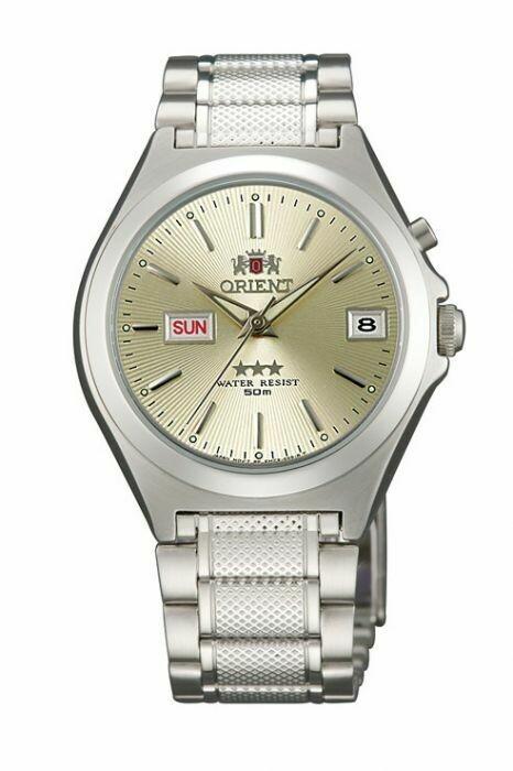 Reloj Automático Hombre Orient 3 Star FEM5A00RC acero