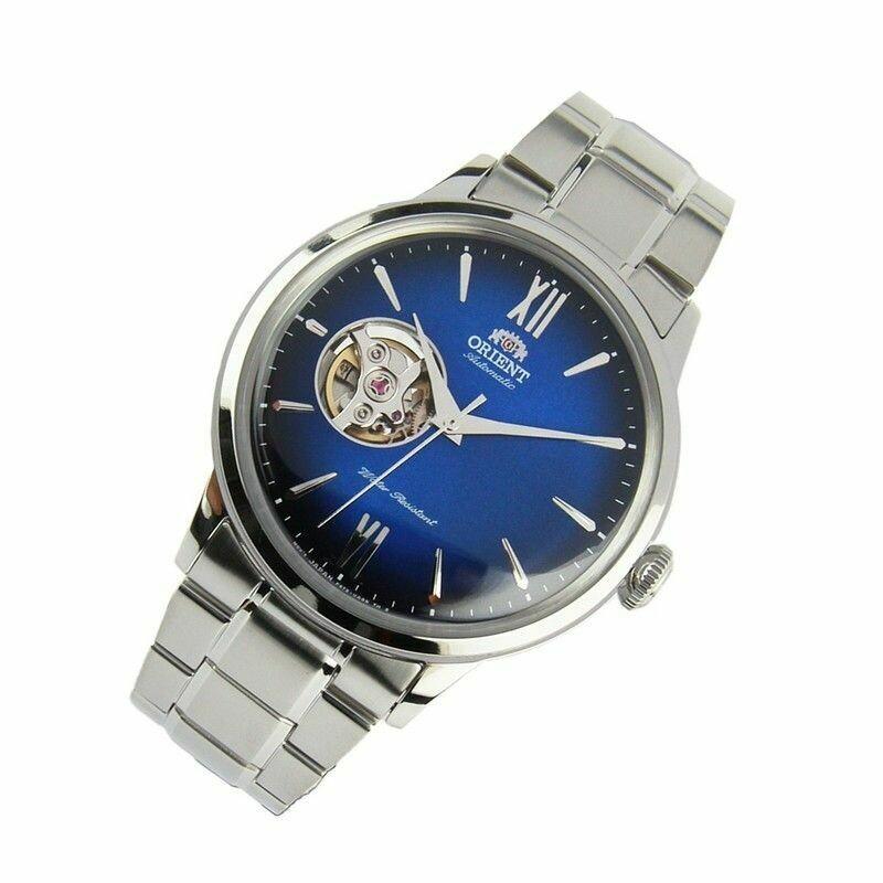 Reloj Automático Hombre Orient Helios Sport RA-AG0028L acero dial AZUL
