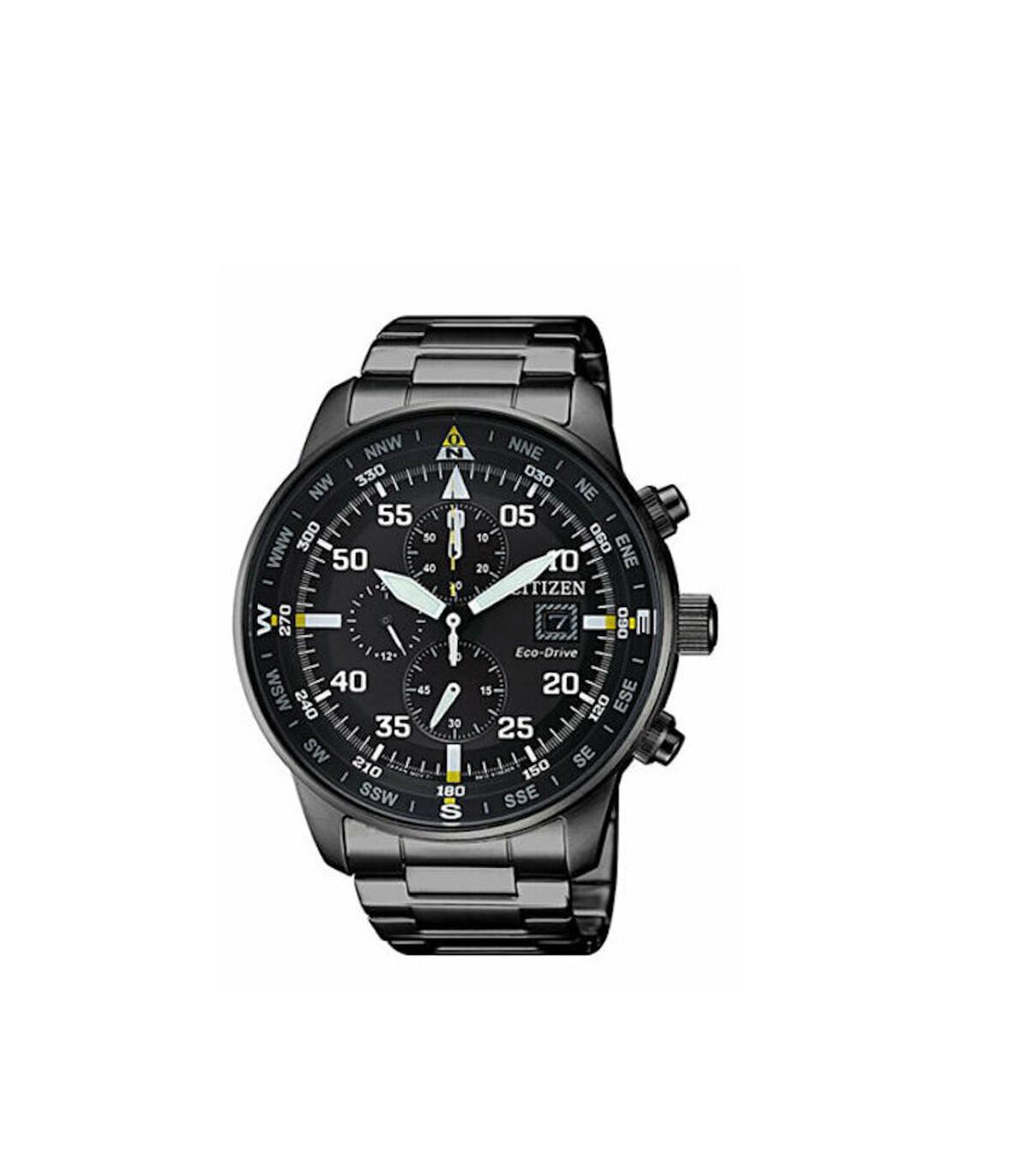 Reloj Hombre Citizen Eco-Drive Men's CA0695-50E Chronograph Black Titanium Band 44mm Watch