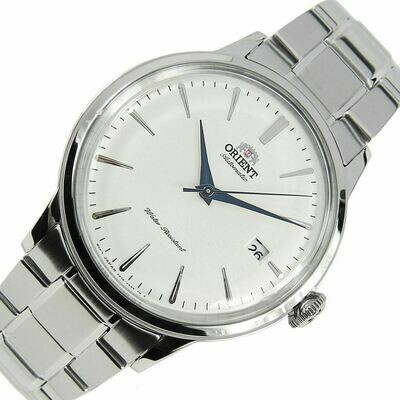 Reloj Automático Hombre Orient Bambino RA-AC0005S correa acero