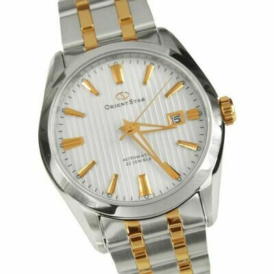 Reloj Automático Hombre Orient Star SDV02001W Cristal Zafiro correa acero
