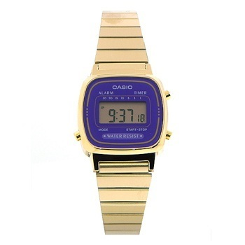 Reloj digital casio la670wga-6d - resistente al agua