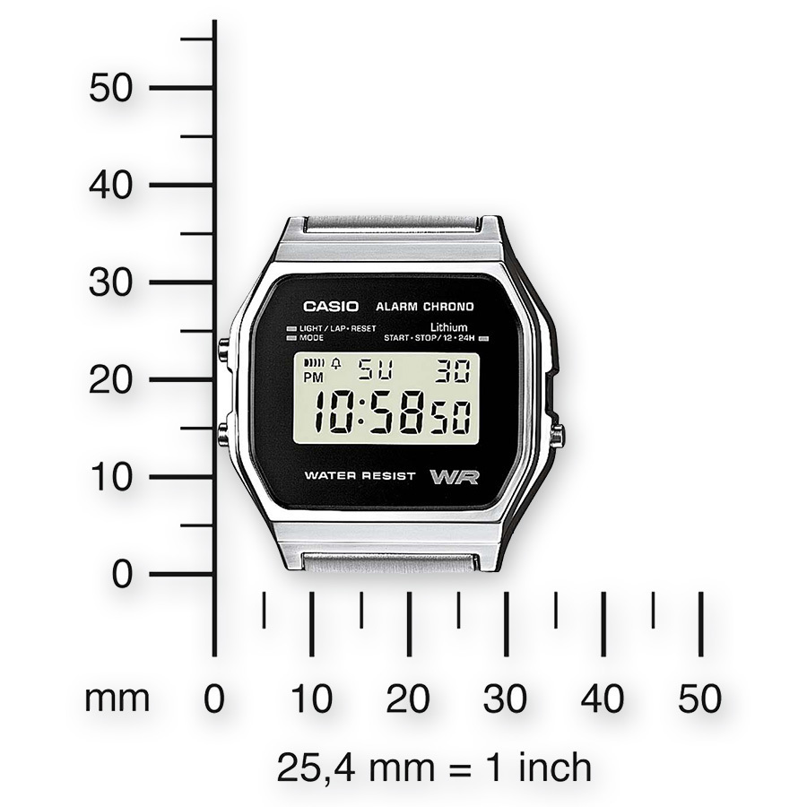 Reloj casio collection digital clásico retro A158WEA-1EF