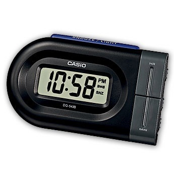 Despertador digital casio dq543b-1
