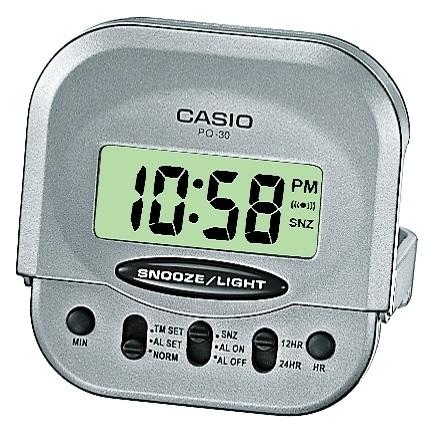 Reloj despertador digital casio PQ-30-8EF MINI