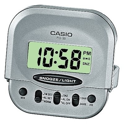 Reloj despertador digital casio PQ-30-8EF MINI
