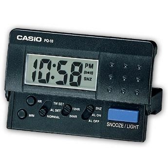 Reloj despertador Casio PQ-10-1ER