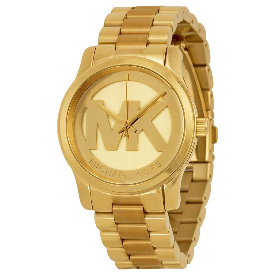 Reloj mujer MICHAEL KORS Parker Champagne Dial Gold-tone Watch