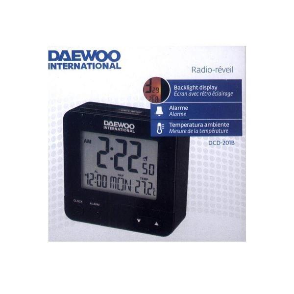 Reloj despertador Daewoo DCD-201B