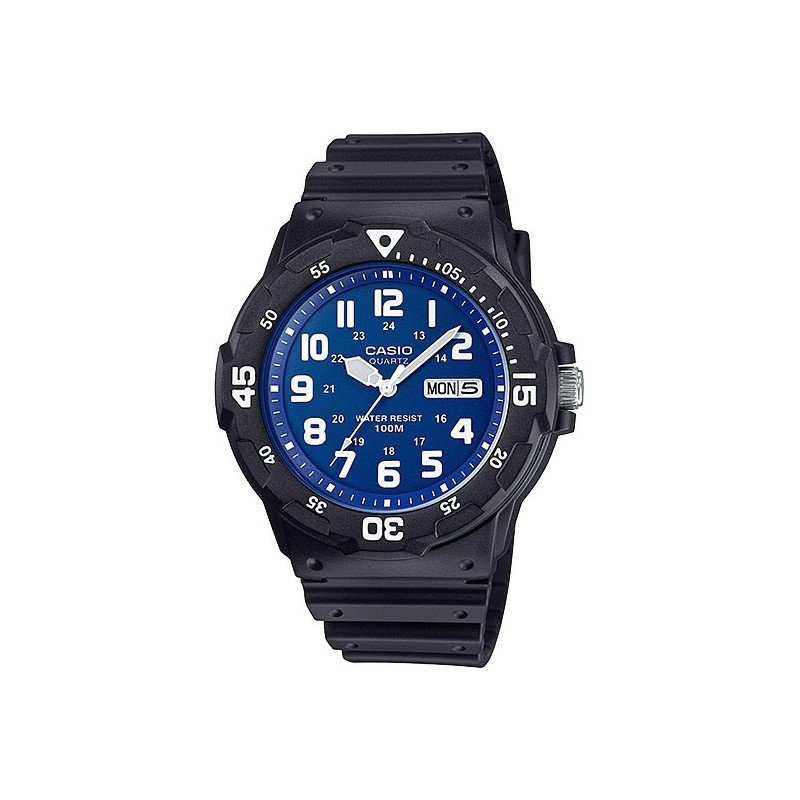 reloj hombre Casio MRW-200H-2B2 azul negro deportivo