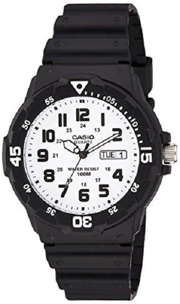 reloj hombre Casio MRW-200H-7B blanco negro deportivo