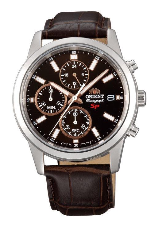 Reloj Orient FKU00005t correa cuero Marrón caballero