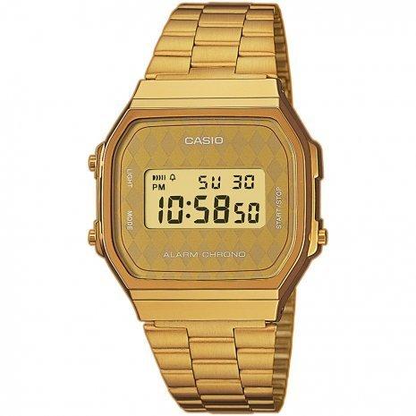 Reloj casio collection A168WG-9BW retro