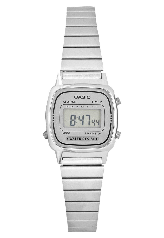 Reloj casio mujer LA670WEA-7DF cronografo multifuncional - acero inoxidable - water resist