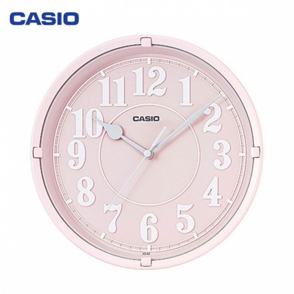 Reloj de pared CASIO IQ-62-4DF