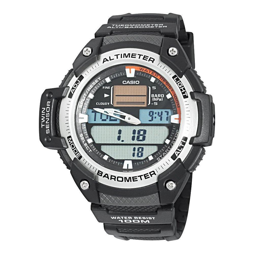 Reloj casio analogico/digital, altímetro, caballero SGW-400H-1BVER