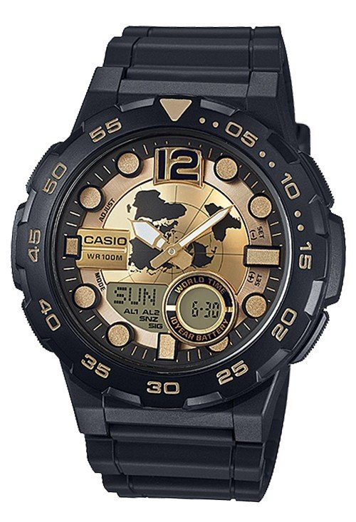 Reloj Casio analogico AEQ-100BW-9AV