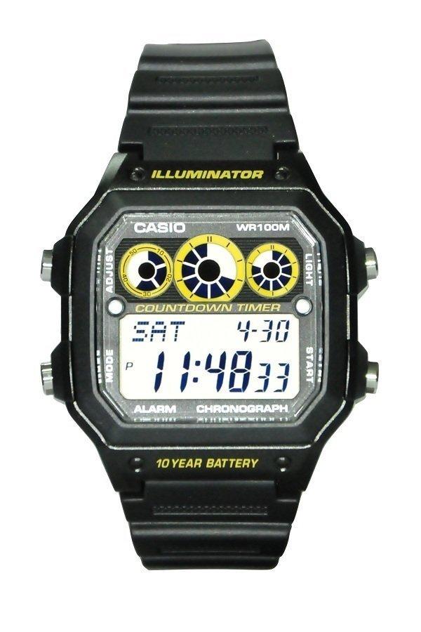 Reloj digital CASIO AE-1300WH-1av
