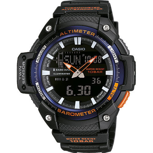 Reloj hombre Casio TWIN SENSOR SGW-450H-2B ALTÍMETRO- TERMÓMETRO