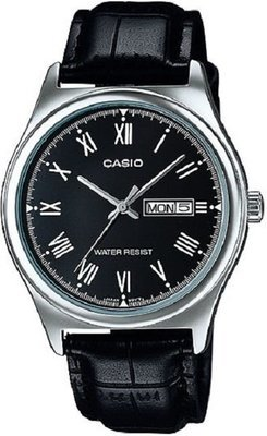 Reloj Casio MTP-V006L-1B Water Resistant Leather Watch