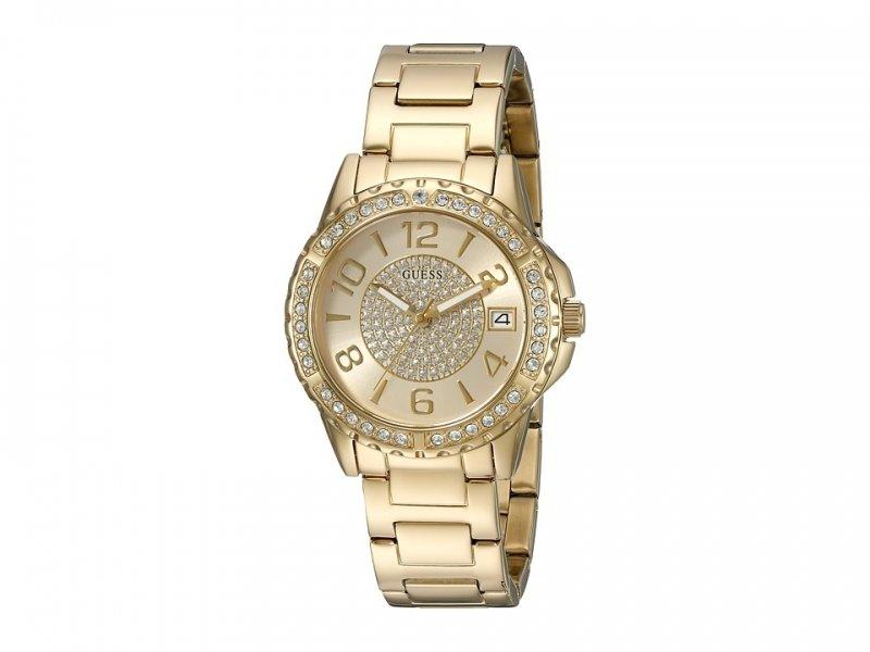Guess Mujer u0779l2 Gold-tone Acero Inoxidable Multifunción reloj deportivo con fecha Dia
