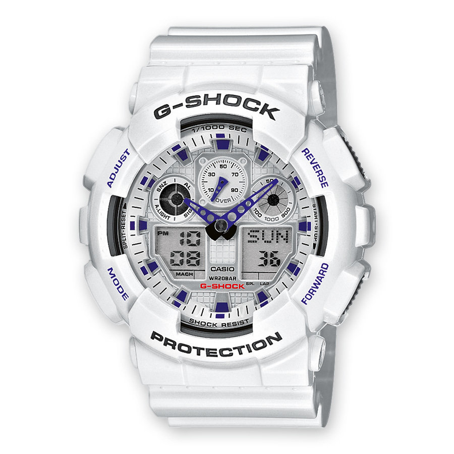 Reloj caballero CASIO G-SHOCK GA-100A-7AER