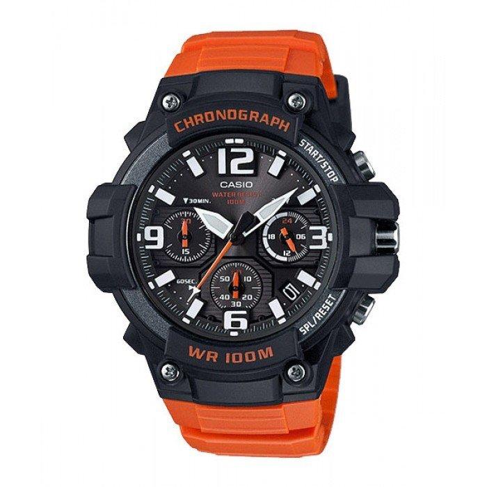 reloj hombre CASIO MCW-100H-4Acrono deportivo