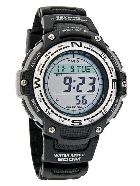 reloj hombre CASIO TWIN SENSOR SGW-100-1v Brújula digital