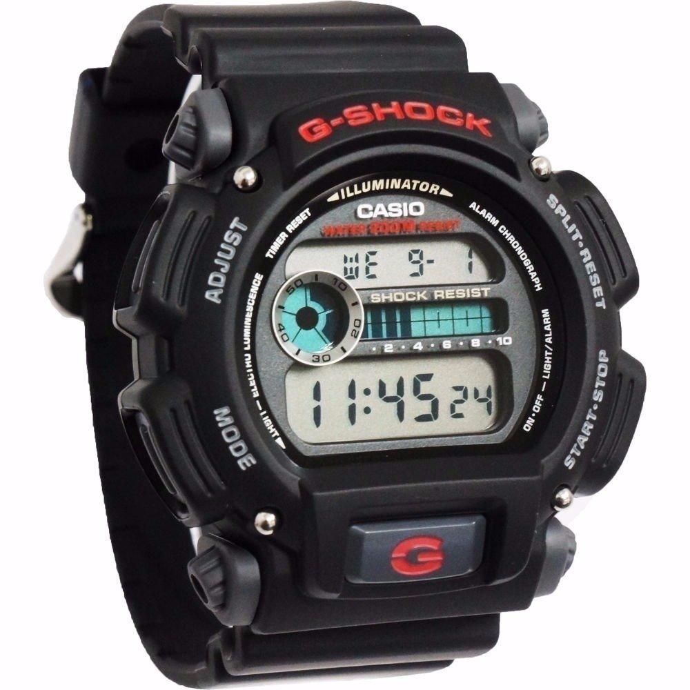reloj hombre Casio G-SHOCK DW-9052-1V correa caucho