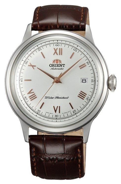 Reloj automático hombre Orient Bambino FAC00008W correa cuero