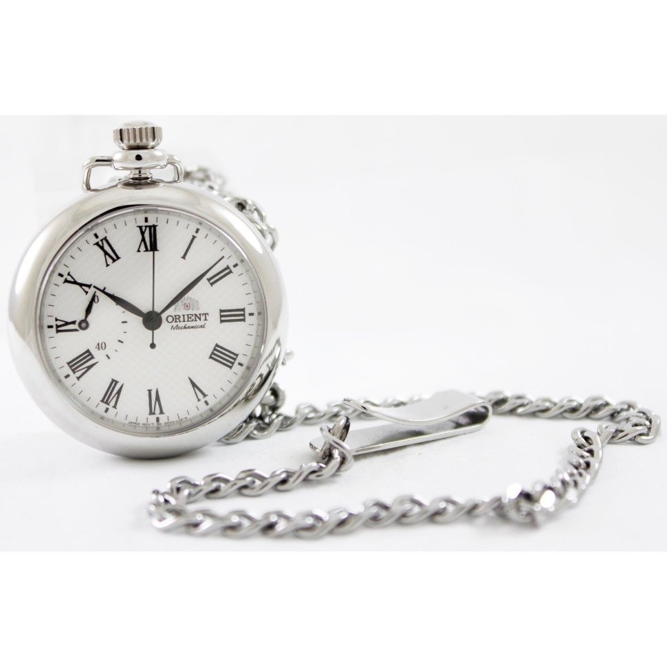 Reloj de bolsillo mecánico ORIENT WORLD STAGE FDD00002W Collection pocket watch hand winding sapphire glass FDD00002W