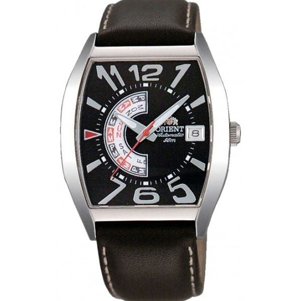 Reloj hombre automático Orient Men's Classic FFNAA006B Black Leather Fashion Watch