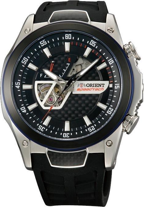 Reloj hombre automático Orient SpeedTech Automatic STI Sport Watch Zafiro power reserve SDA05002B