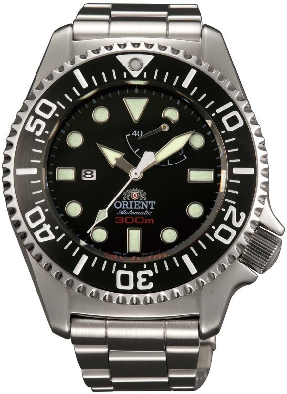 RELOJ HOMBRE AUTOMÁTICO ORIENT SEL02002B Pro Saturation buceo profesional 300m POWER RESERVE ZAFIRO