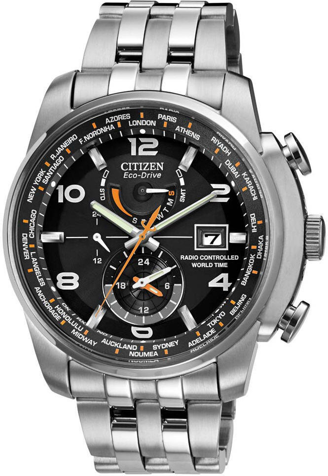 reloj hombre radiocontrol CITIZEN ECO-DRIVE at9010-52e