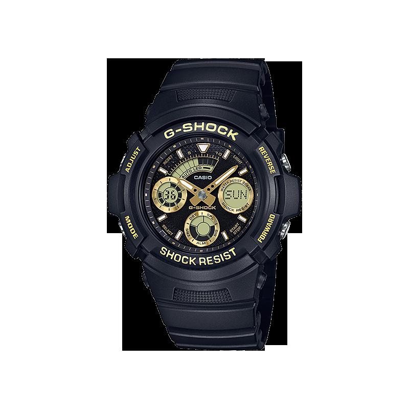 reloj hombre CASIO G-SHOCK AW-591GBX-1A9 NEOBRITE - 200M WR -WORLD TIME