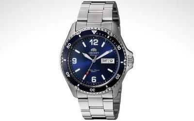 reloj hombre automático ORIENT MAKO FAA02005D RAY II azul correa acero