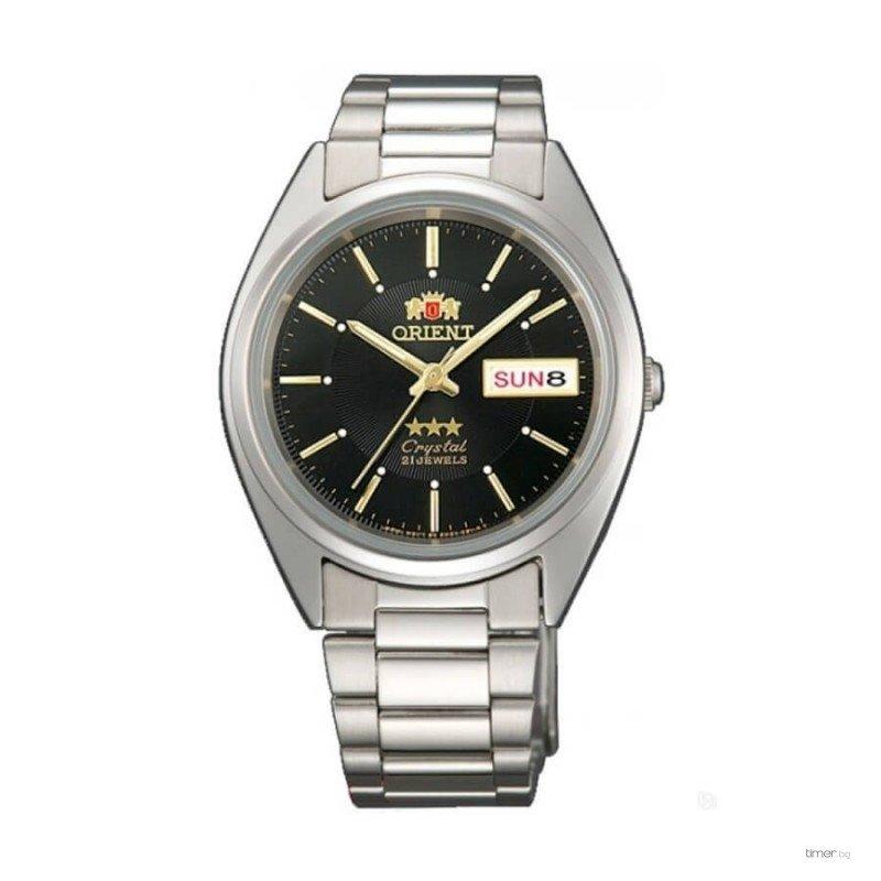 Reloj automático Orient 3 Star FAB00006B NEGRO Dial correa acero