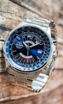 reloj hombre automático Orient FEU07008D Multi-year acero