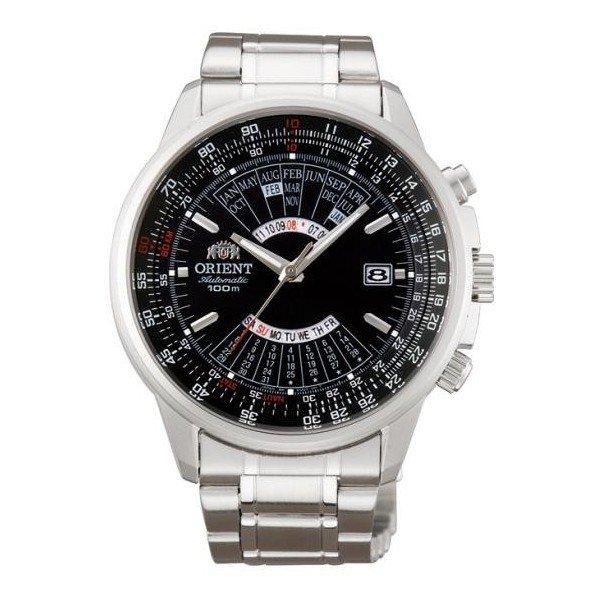 reloj hombre automático Orient multi-year FEU07005B dial negro