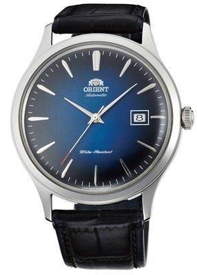 reloj hombre automático Orient Bambino FAC08004D dial azul cuero