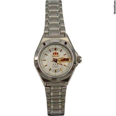 reloj automático mujer Orient FNQ18004E Tristar classic acero