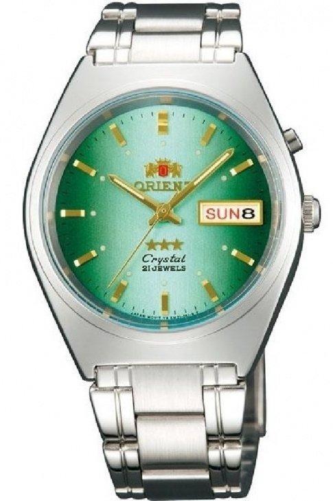 reloj hombre automático Orient Tristar FEM0801LN verde acero