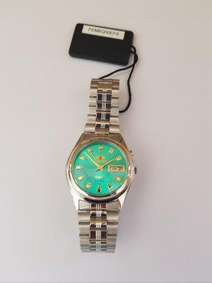 reloj hombre automático Orient Tristar FEM6Q00EF9 verde acero