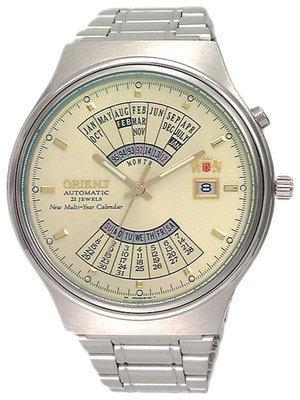 reloj hombre automático Orient Multi-year FEU00002C acero
