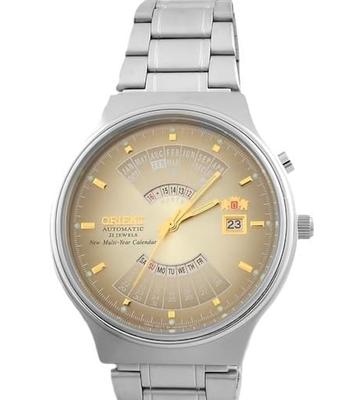 reloj hombre automático Orient Multi-year FEU00002U acero