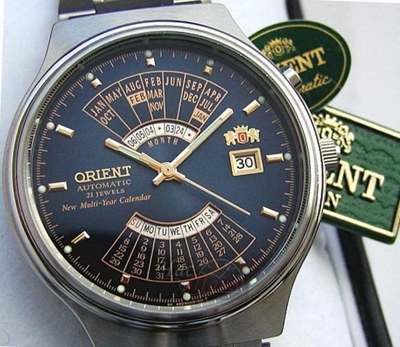 reloj hombre automático Orient Multi-year FEU00002D acero
