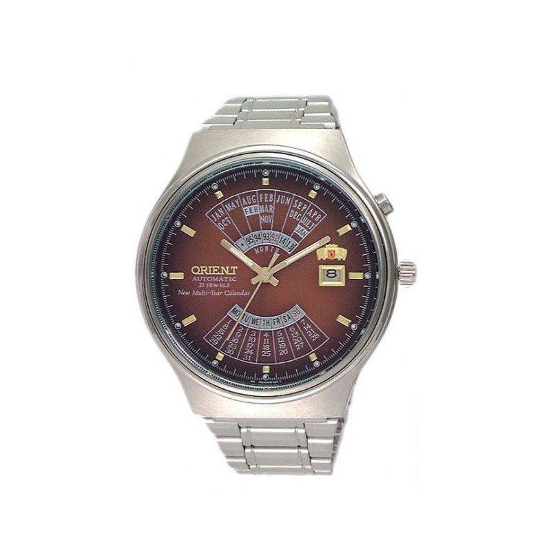 reloj hombre automático Orient Multi-year FEU00002P acero